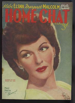 WAR TIME .HOME CHAT MAGAZINE 18th MARCH 1944