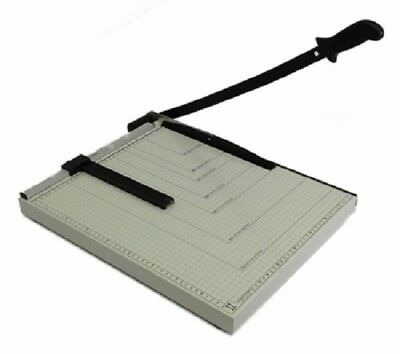 "PAPER CUTTER - 21"" x 16"" inch - METAL BASE TRIMMER NEW"