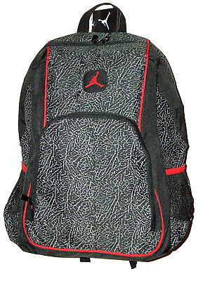 c70ece5291189f Nike Air Jordan Jumpman Flight Laptop Bottle Leopard Design School Backpack  Bag