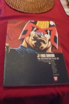 2000AD Judge Dredd The Restricted Files 03 Paperback Graphic Novel