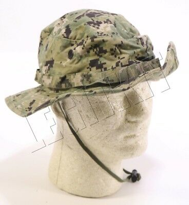 Issued NWU Type III AOR2 Boonie Cap Hat Cover Size EXTRA LARGE (XL) Navy SEAL