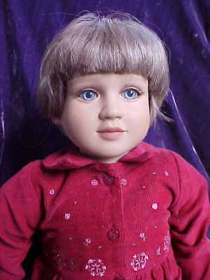 "My Twinn Doll 23"" Short Brunette Bob from 2001"