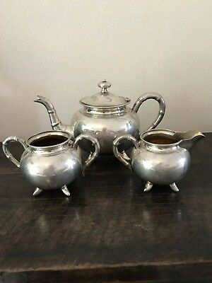 Fantastic solid silver chinese tea set