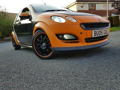 smart for four brabus turbo, not colt czt rs or st