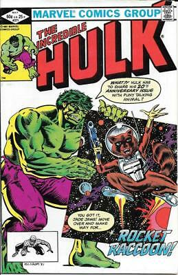 Marvel Comics Group The Incredible Hulk #271 Book ROCKET RACOON May 1981 Issue