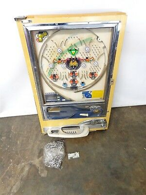 Vintage Nishijin Pachinko Machine With Balls For Parts/Repair