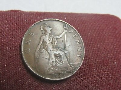 1926 = Great Britain 1 Penny=Buy Any 30 Coins Get 10% Off++Ship Free #br55
