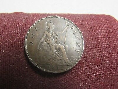 1932 = Great Britain 1 Penny=Buy Any 30 Coins Get 10% Off++Ship Free #br60