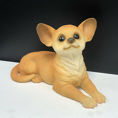 Y-DOG-CH-701) CHIHUAHUA MEXICAN dog dogs figurine gemstone carving