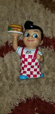 Big Boy Coin Piggy Bank 1999 Plastic Restaurant And Fast Food