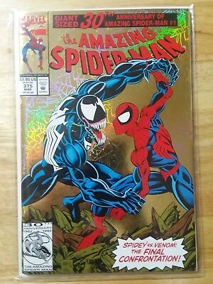 Amazing Spider Man #375  Gold Foil Cover Marvel 1993 Nm