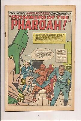 Fantastic Four #19 Marvel 1963 Coverless -First Series -First Print