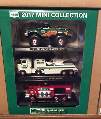 Brand New -Hess 2017 Mini Truck Collection
