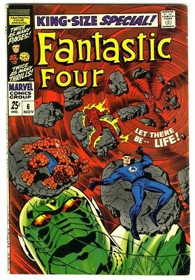 Fantastic Four Annual #6 (1968) Fine- New Marvel Silver Bronze Collection