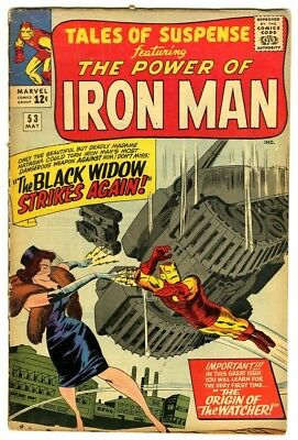 Tales of Suspense #53 (1964) VG- New Marvel Silver Bronze Collection