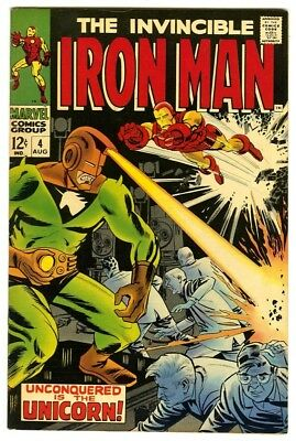 Iron Man #4 (1968) VF- New Marvel Silver Bronze Collection