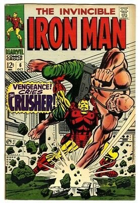 Iron Man #6 (1968) F/VF New Marvel Silver Bronze Collection