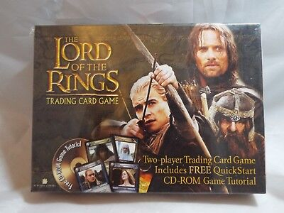 Lord Of The Rings Tcg Two-Player Trading Card Game With Cd Rom