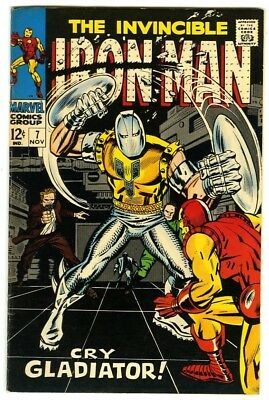 Iron Man #7 (1968) VF/NM New Marvel Silver Bronze Collection