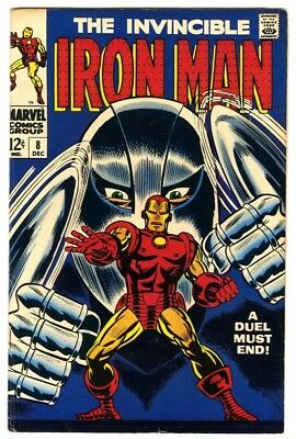 Iron Man #8 (1968) Fine+ New Marvel Silver Bronze Collection