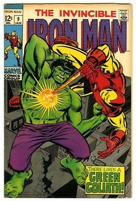 Iron Man #9 (1969) VF+ New Marvel Silver Bronze Collection