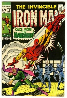 Iron Man #10 (1969) VF/NM New Marvel Silver Bronze Collection