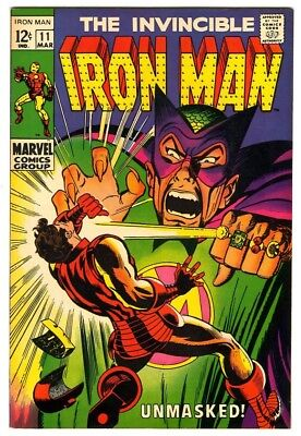 Iron Man #11 (1969) VF/NM New Marvel Silver Bronze Collection