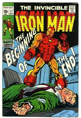 Iron Man #17 (1969) VF New Marvel Silver Bronze Collection