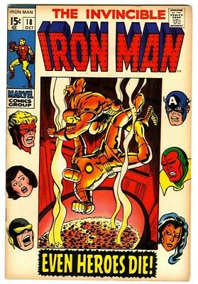 Iron Man #18 (1969) F/VF New Marvel Silver Bronze Collection