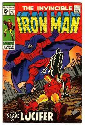 Iron Man #20 (1969) VF New Marvel Silver Bronze Collection