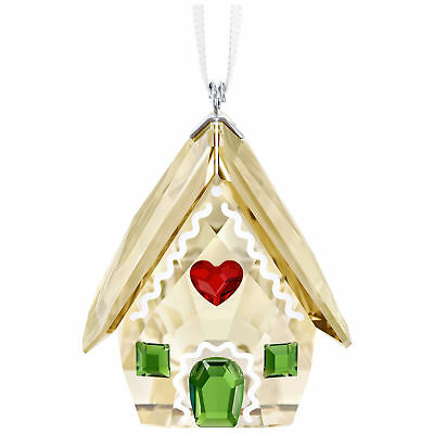 Swarovski Gingerbread House Ornament 5395977 New 2018 inOriginal Box Crystal