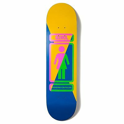 Girl Mike Mo Capaldi 8.125 Inch Unisex Skateboard Part Deck - 93 Til All Sizes