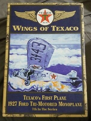 New in box, Wings of Texaco 1927 Ford Tri-Motored Monoplane 7th in the Series