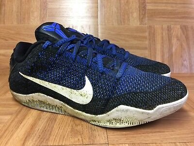 896a80f6124a ... germany rare nike kobe 11 xi elite low black racer blue sz 13 822675  014 a0d6a