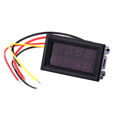 Digital LED DC Voltmeter Panel Ammeter Voltage Current Meter 0-33.00V 0-3A TE544