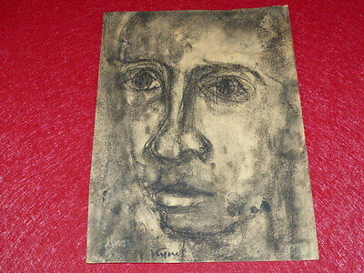 Coll.R - John MILL ART 20th LADISLAS KIJNO EXTREMELY RARE DRAWING ORIGINAL 1949!