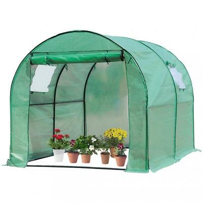 Portable Greenhouse Outdoor Large Plant Shelves Walk-in Green House For Winter