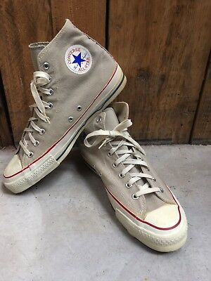 Vintage Made In USA Converse Mens Size 12  Original 80s / 90s