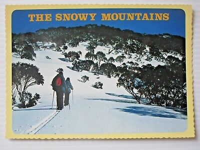 Postcard - The Snowy Mountains  - Postage $1.50