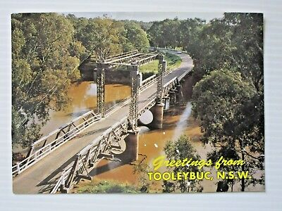 Postcard - Tooleybuc  Murray River Bridge Nsw - Postage $1.50