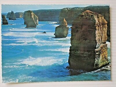 Postcard - The Aqpostles Port Campbell Warrnambool Victoria - Postage $1.50