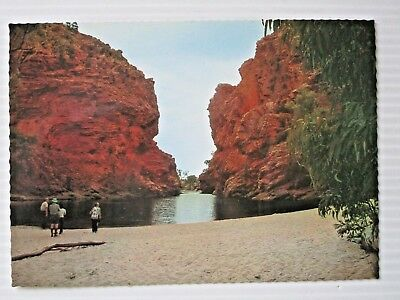 Postcard - Ellery Creek Gorge Central Australia Nt  - Postage $1.50