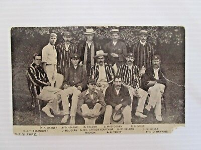 Postcard Middlesex Cricket Team Pelham Warner Bosanquet - Postage $1.50