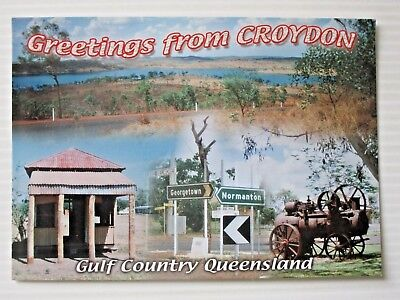 Postcard - Croydon North Queensland   - Postage $1.50