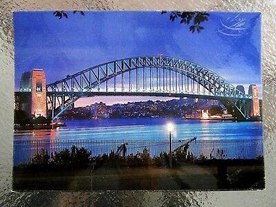 Postcard Sydney Harbour Bridge Night Scene- Postage $1.50