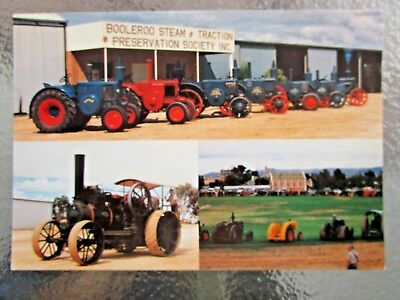 Postcard Steam & Traction Museum Booleroo Multi View   - Postage $1.50
