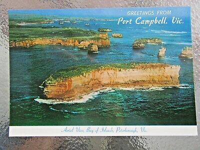 Postcard Aerial View Bay Of Islands Peterborough Vic   - Postage $1.50