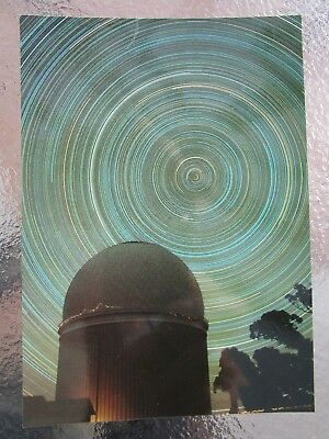 Postcard Star Trails Around The Celestial Pole     - Postage $1.50