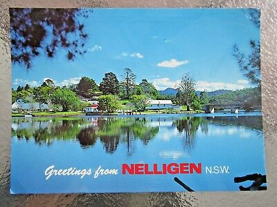 Postcard Clyde River Country Town Nelligen  Nsw    - Postage $1.50