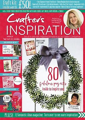 Crafters Companion - CRAFTERS INSPIRATION - Issue 20 Fall Edition FREE UK P&P